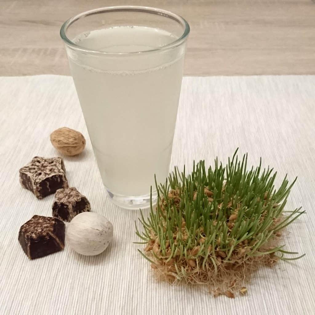 Rejuvelac selbst herstellen mit Weizen
