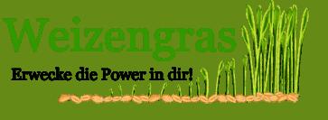 Weizengras anbauen Logo mit Erwecke die Power in dir