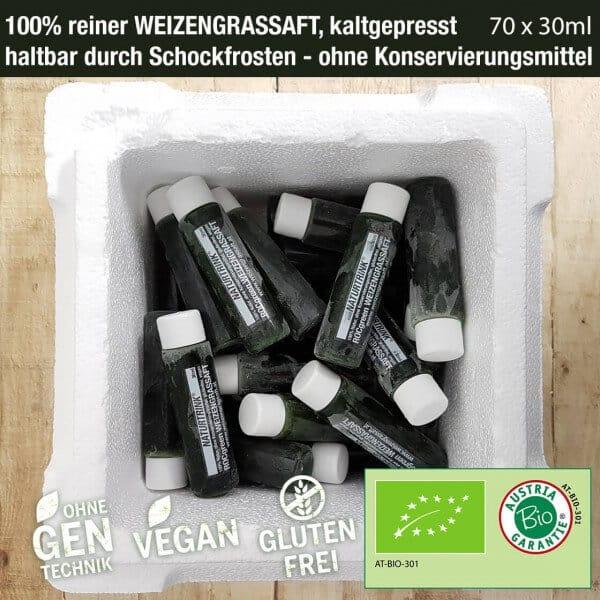 Weizengrassaft kaufen 10 Wochen