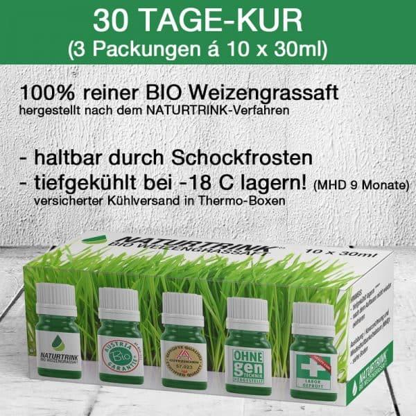 Weizengras kaufen 30 Flaschen