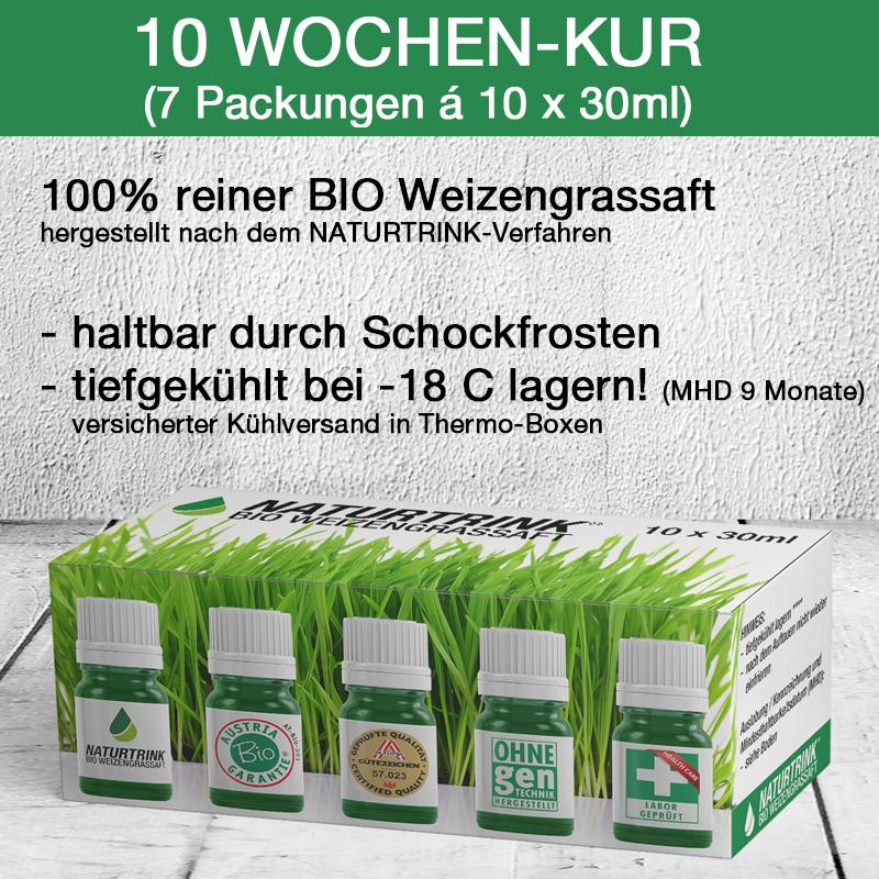 10 Wochen Kur Weizengrassaft kaufen